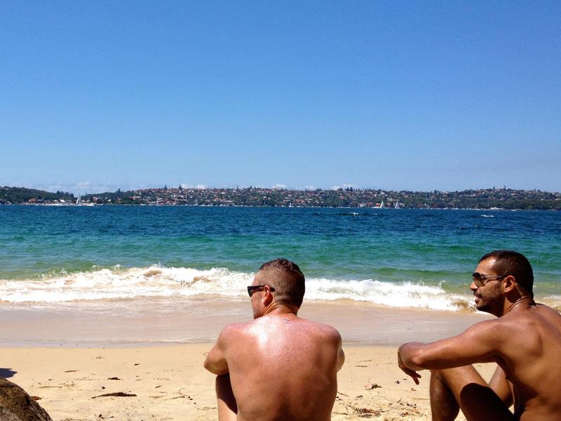 Gay Nudist Beaches in Sydney