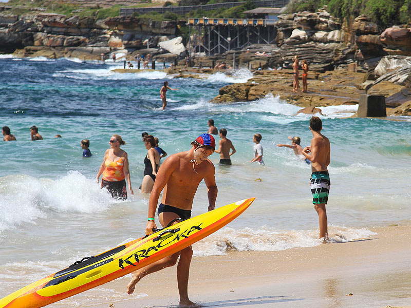 Lifeguards in Sydney
