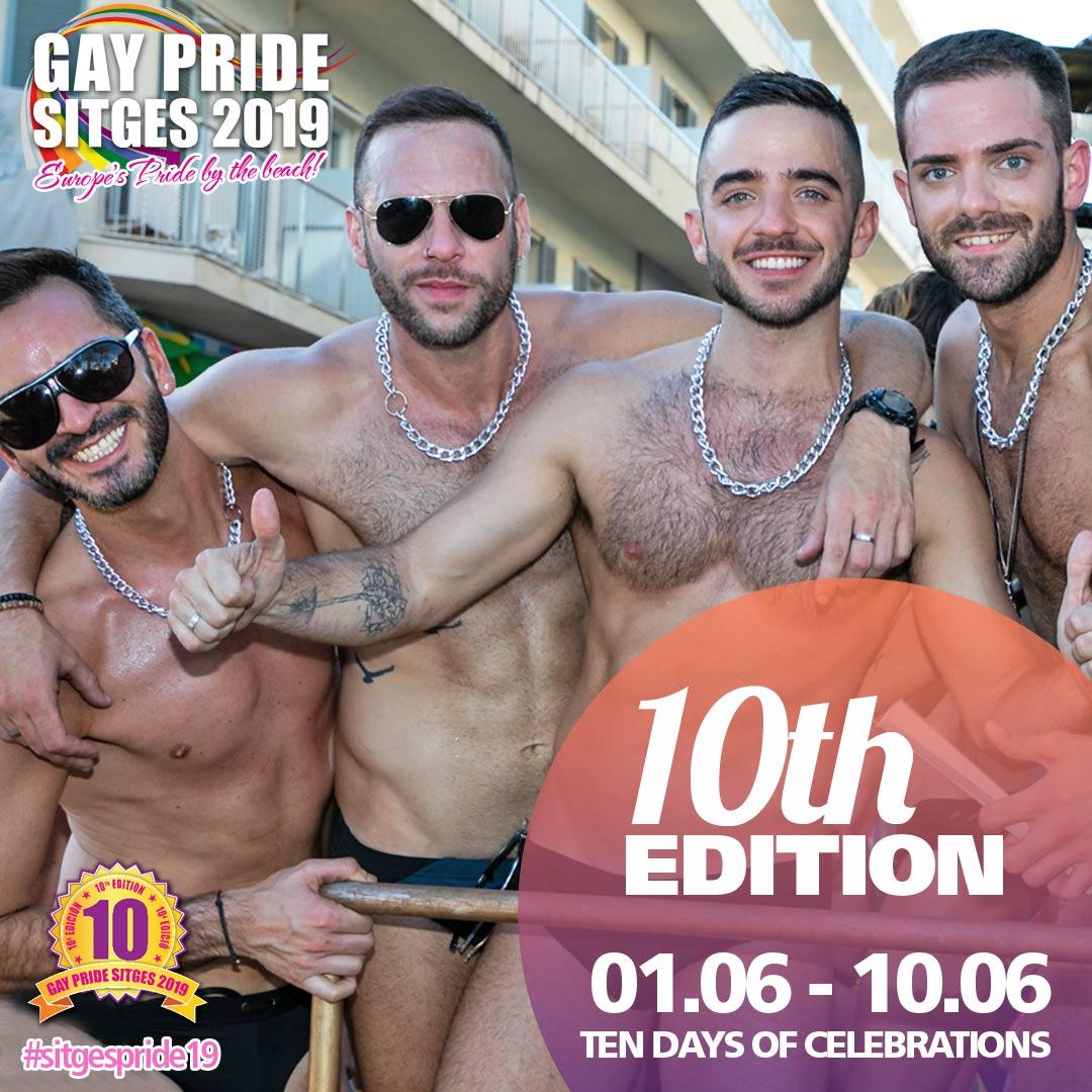 Sitges Pride 10e editie