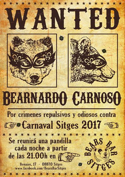 orso Carnevale Sitges