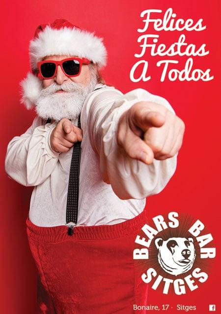 Bears Bar Véspera de Ano Novo