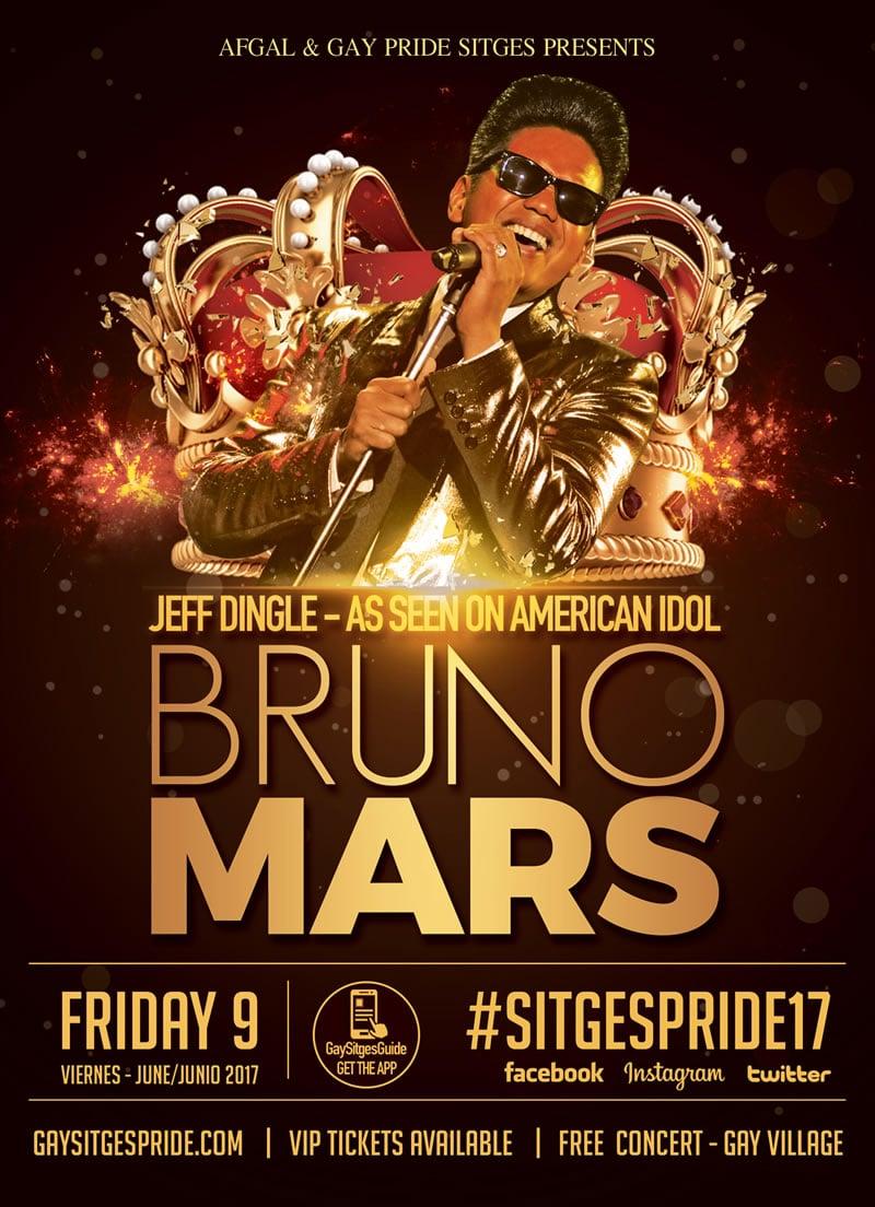 Bruno Mars Sitges Pride
