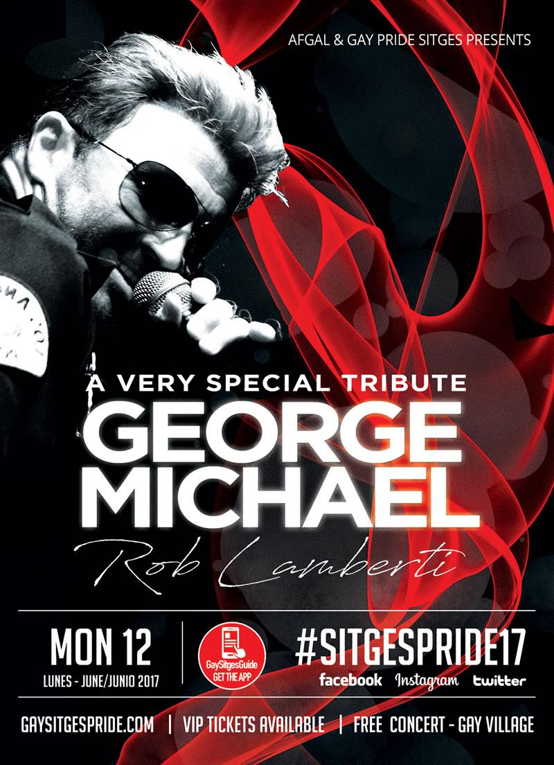 George Michael Sitges Pride
