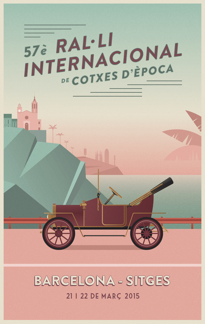 Sitges Car Rally 2015