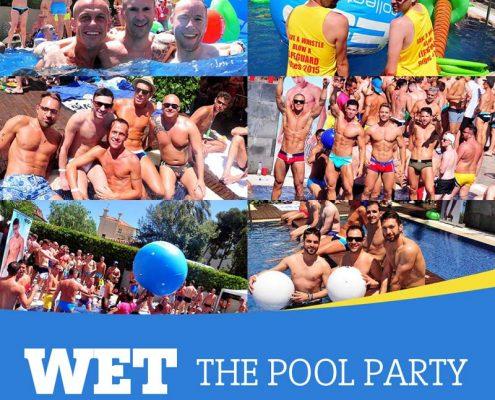 Sitges Pride Pool Party WET 2017