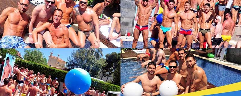 Sitges Pride Pool Party WET 2017