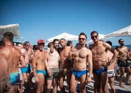 Gay Pride Sitges beach party