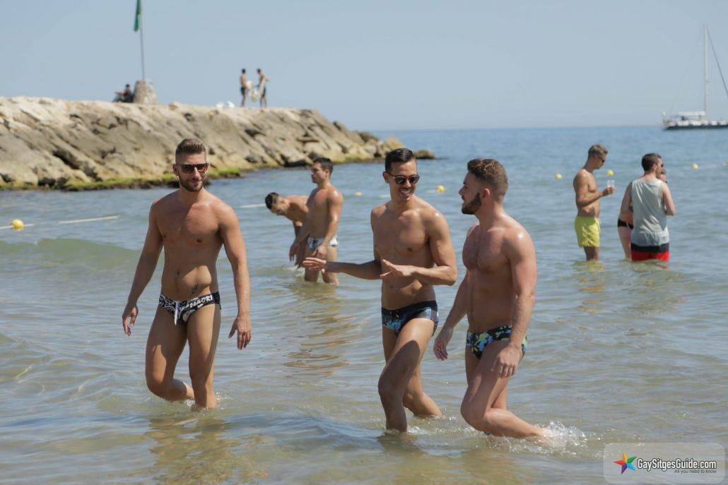 to Sitges s two gay beaches