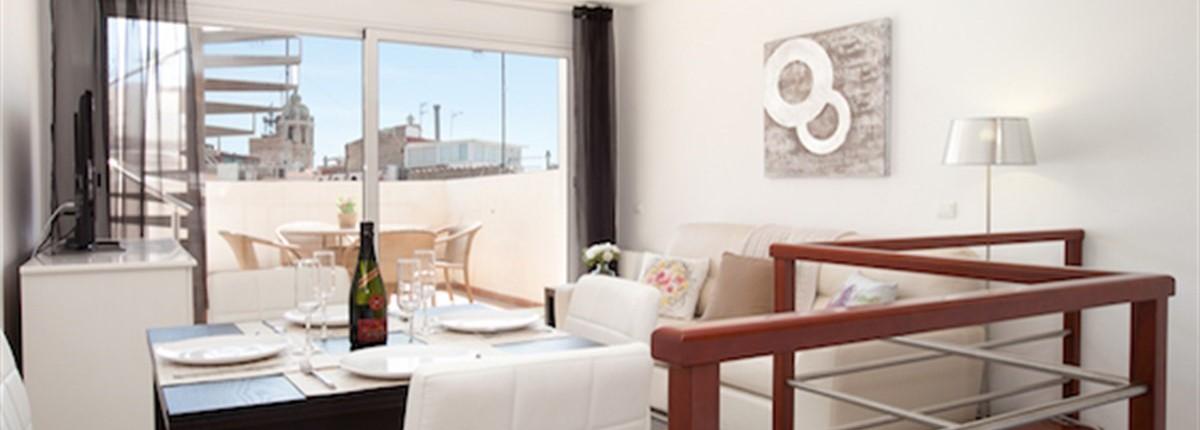 The Blaumar Atico Apartment