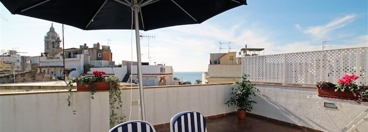 The Maritim Blau Atic Apartment