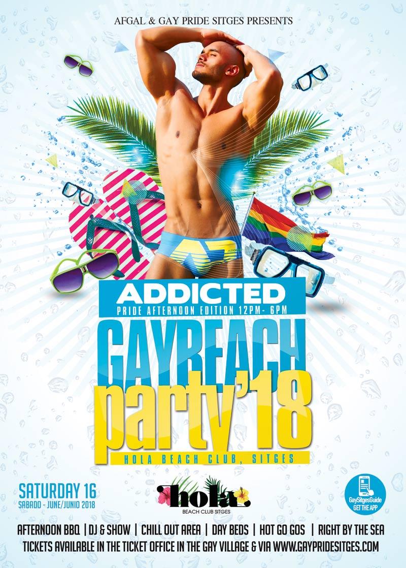 Festa in spiaggia gay 2018