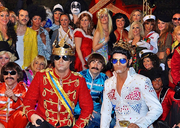 Chegada do Carnaval do Rei de Sitges