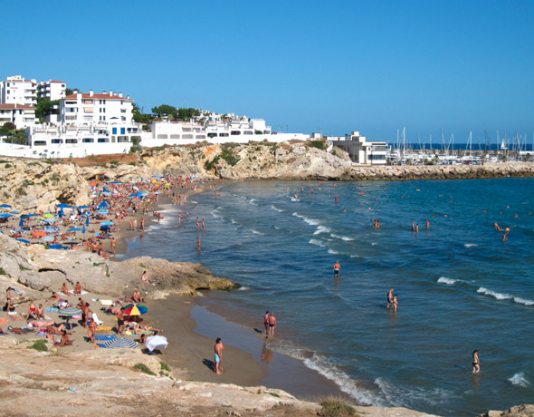 Balmins Gay Beach Sitges