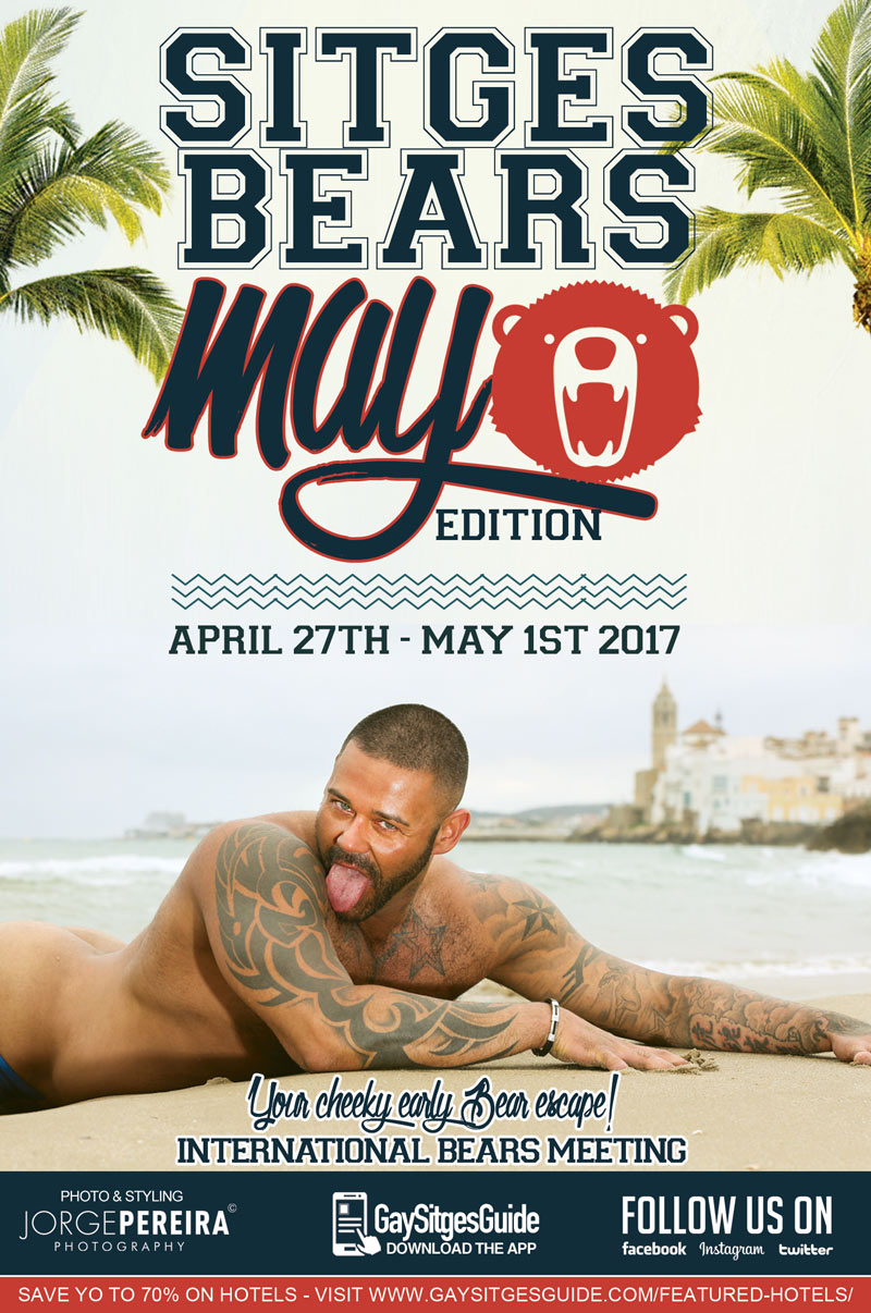 Bears Week Sitges May Edition 2017