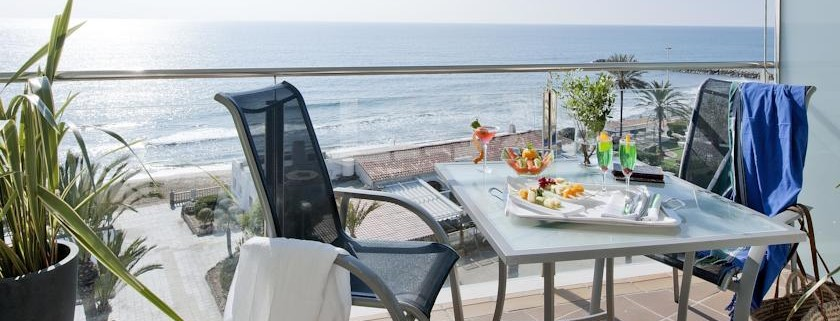 Hotel Calipolis Balcony