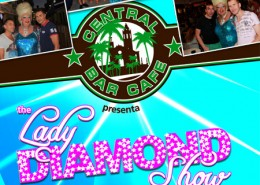 Central Cafe Bar Sitges with Lady Diamond