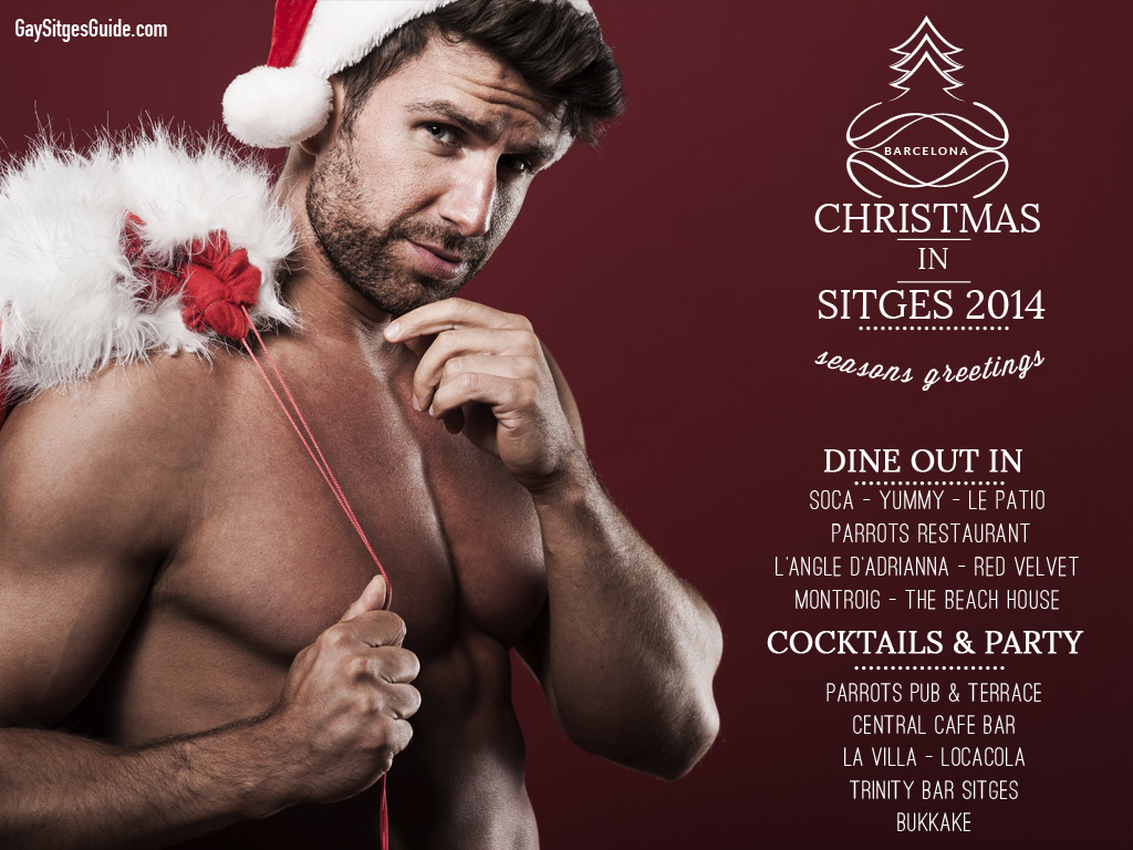 Christmas in Gay Sitges