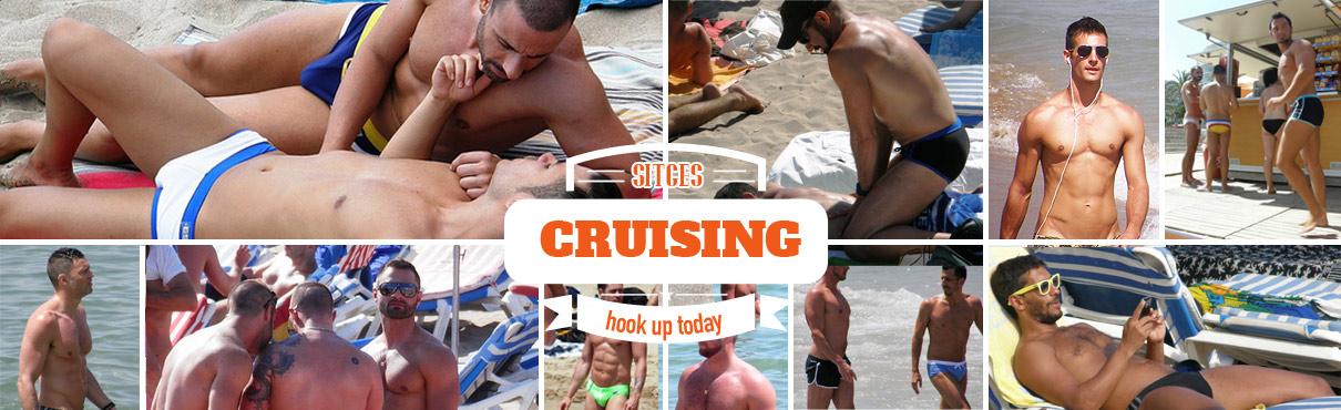 Gay cruising in Sitges