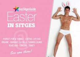 Easter in Sitges 2014