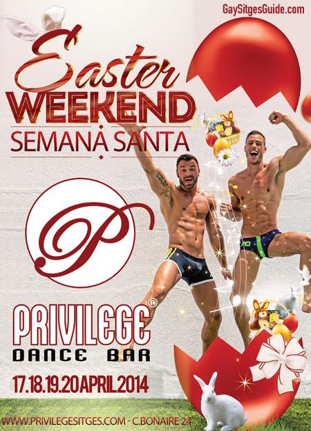 Privilege Easter Sitges 2014
