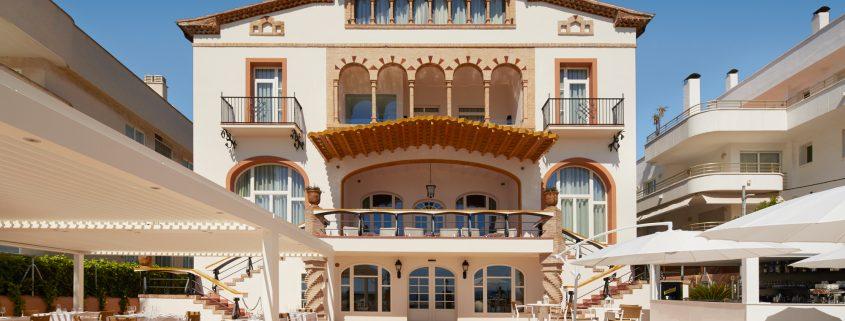 Casa Vilella outside view Sitges