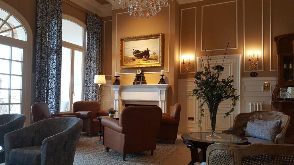 Fireplace at Casa Vilella Sitges