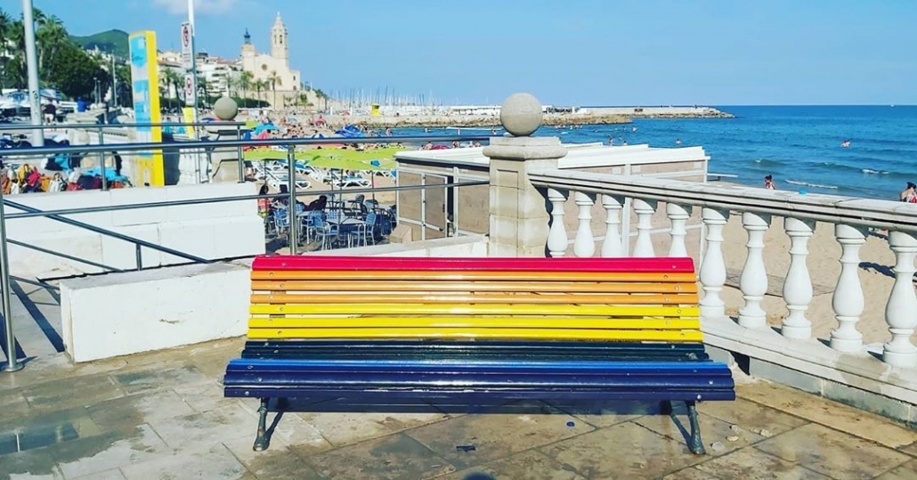 Pride Bench