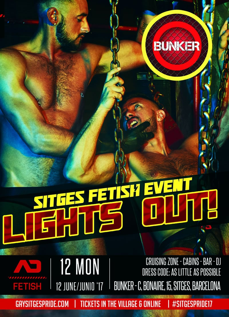 Luci spente Party Pride Sitges