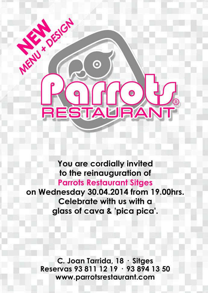 Parrots Restaurant Reopens