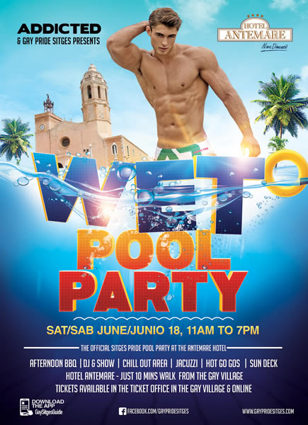 Wet Pool Party Sitges
