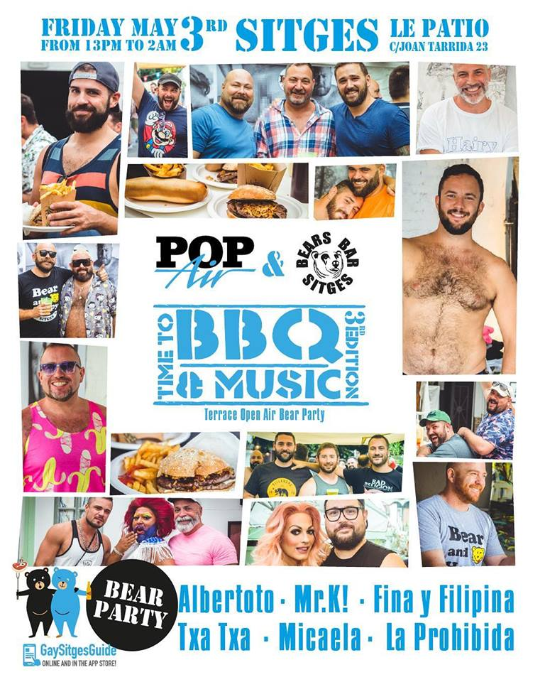 BBQ POPAIR Berenweek Sitges 2019