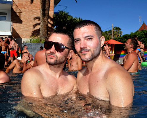 Sitges pool party