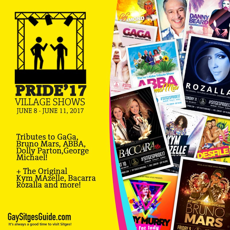 Pride Shows - 2017 Sitges