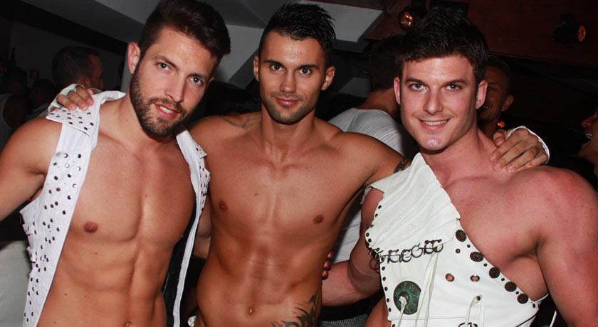 Gay Beach party at Sweet Pacha