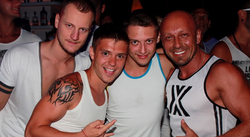 Gay Beach party at Sweet Pacha
