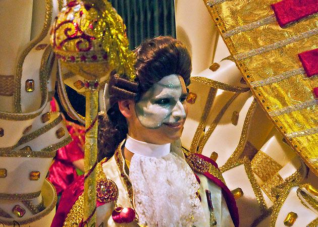 Desfile de Carnaval de terça