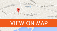 Map of Sitges Apartments