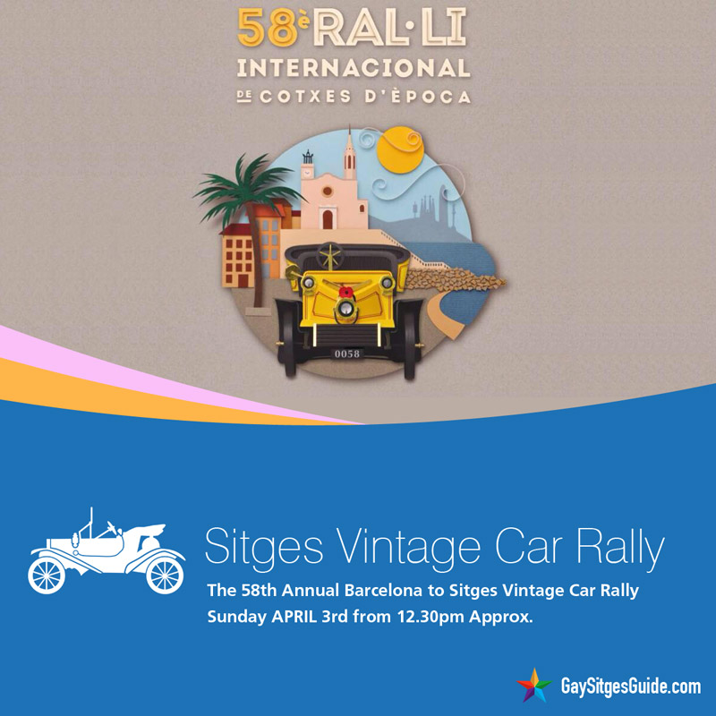 Sitges Vintage Car Rally 2016