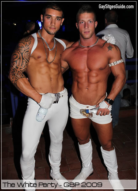 The Fiesta Blanca At Sitges Gay Beach Party 2009